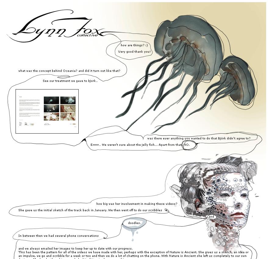 Lynn Fox special for bjork.com