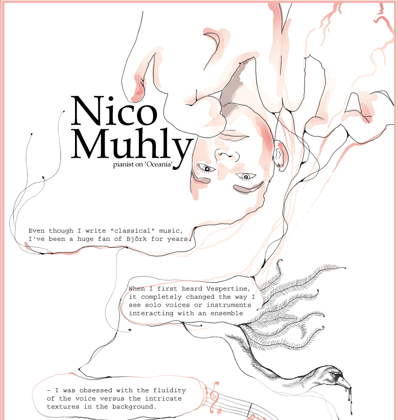 Nico Muhly special on bjork.com