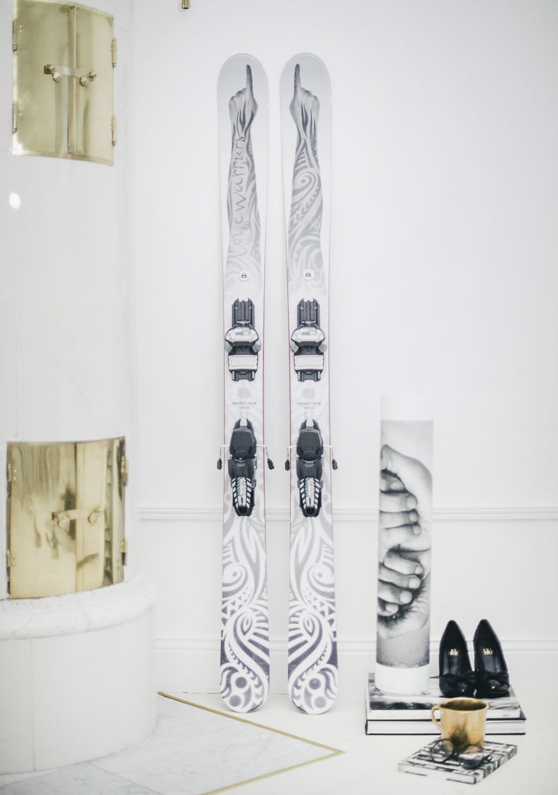 LoveWarriors All Mountain Skis